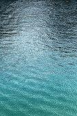 Calm Rippled Ocean Surface