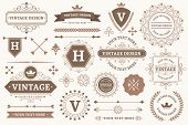 Vintage Sign Borders. Elegant Frame, Luxurious Old Design And Antique Typography Border. Best Produc poster