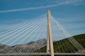 Dubrovnik, Croatia: The Franjo Tudman Bridge (croatian: Most Dr. Franja Tudmana) Is A Cable-stayed B poster