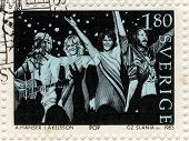 Abba Postage Stamp