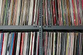 Vinyl Records Storage