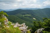 Shipka Pass - A Scenic Mountain Pass Through The Balkan Mountains In Bulgaria. poster