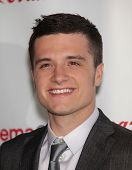 LAS VEGAS - APR 26:  JOSH HUTCHERSON arrives afor the Cinema Con 2012-Final Night Awards  on April 2