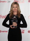LAS VEGAS - APR 26:  MICHELLE PFEIFFER arrives afor the Cinema Con 2012-Final Night Awards  on April