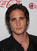 LAS VEGAS - APR 26:  Diego Boneta arrives afor the Cinema Con 2012-Final Night Awards  on April 26,