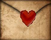 Old Paper Love Letter