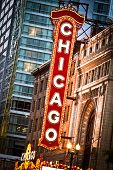 Chicago Theater teken