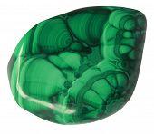 stock photo of malachite  - One little stone  - JPG