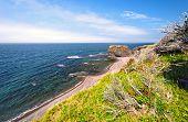 schroffe Küste Strand in Neufundland