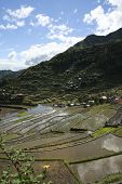 stock photo of ifugao  - ancient rice terraces of batad in northern luzon the philippines - JPG