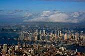 Vista aérea em Manhattan