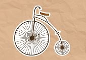 Velocipede (High Wheel Bicycle)