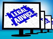 Legal Advice On Monitors Shows Legal Consultation