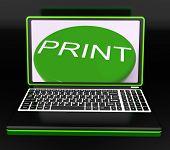 Imprimir en el Monitor de la impresora