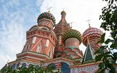 Domes Of Saint Basil's Cathedral