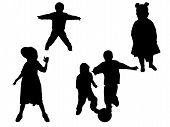 Silhouettes Kids
