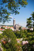 Gothic church in Kutna Hora. Czech Republic.
