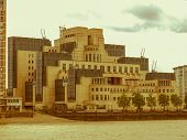 Retro Looking British Secret Service Buidling