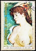 Post Stamp Of Equatorial Guinea