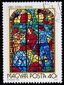 Hungarian Pos Stamp