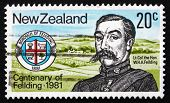 Postage Stamp New Zealand 1981 Henry A. Feilding