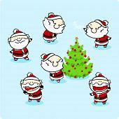 Santa Claus - set 1
