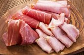 pic of smoked ham  - ham and prociutto - JPG