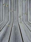 Knotted Wooden Wall And Floor Background