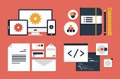 Branding And Application Design Elements