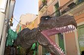 Tyrannosaurus on Festa Major