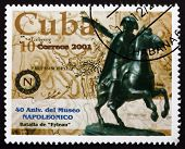 Postage Stamp Cuba 2001 Equestrian Statue Of Napoleon