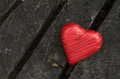 Red Wrapped Heart