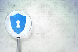image of keyholes  - Security concept - JPG