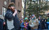 Veteran Dakota Serna At Ann Arbor Hash Bash 2014