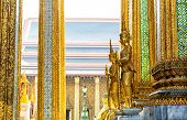 Guards of Wat Po Temple