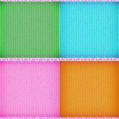 Постер, плакат: Pink Marvel Of Peru Card Board Texture