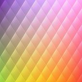 Vector abstract rhombus background