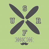 Surfboard Symbol