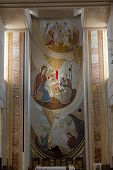 Cracow Lagiewniki - The centre of Pope John Paul II. Main altar