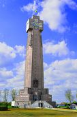 Yzer Tower In Diksmuide Flanders Belgium Biggest Cross War