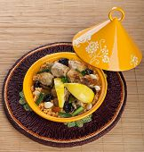 Tajine With Chicken, Moroccan Food
