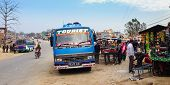 Long distance travel in Nepal