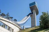 Bergisel Tower In Innsbruck, Austria.