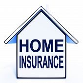 Home Insurance House Means Protecting And Insuring Property