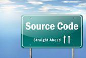Highway Signpost Source Code