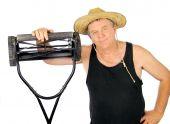 Jardineiro de cortador de grama