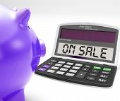 On Sale Calculator Shows Price Cut And Savings