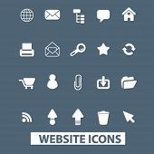 website icons set. vector