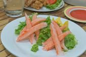 Imitation Alaska Crab Stick