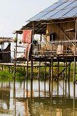 House on stilts, Myanmar